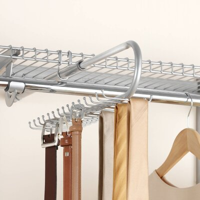 Rubbermaid Configurations Closet Tie And Belt Organizer U0026 Reviews | Wayfair