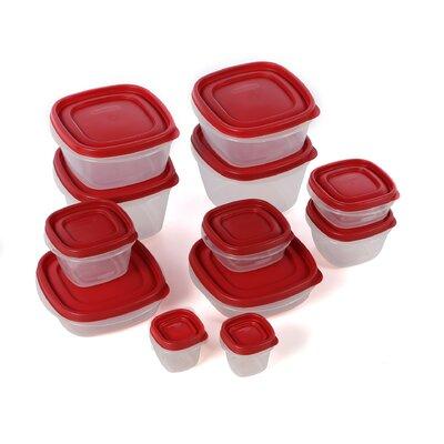 Rubbermaid 12 Container Food Storage Contaiber Set & Reviews | Wayfair