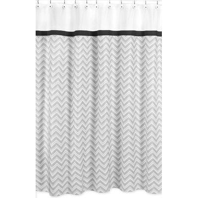 Sweet Jojo Designs Zig Zag Cotton Shower Curtain U0026 Reviews | Wayfair