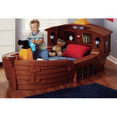 little tikes pirate ship toddler bed & reviews | wayfair