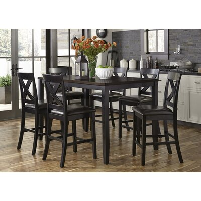 Darby Home Co Nadine Rectangular 7 Piece Breakfast Nook Dining Set U0026  Reviews | Wayfair