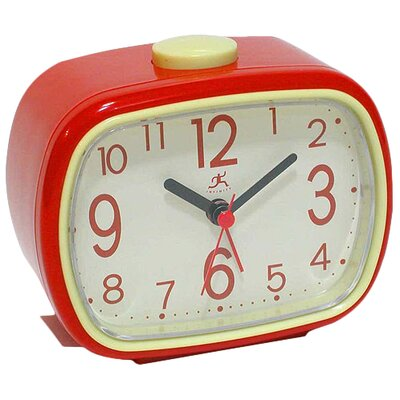 Marvelous Infinity Instruments That U002770s Retro Alarm Tabletop Clock U0026 Reviews |  Wayfair