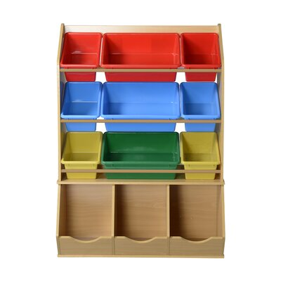 Beautiful American Furniture Classics 12 Piece Removable Plastic Bin Toy Organizer U0026  Reviews   Wayfair