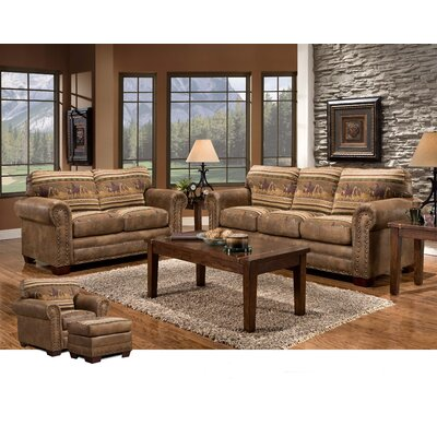 american furniture classics wild horses 4 piece living room set