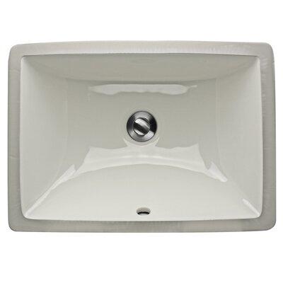 Undermount Rectangular Bathroom Sink nantucket sinks great point rectangular undermount bathroom sink