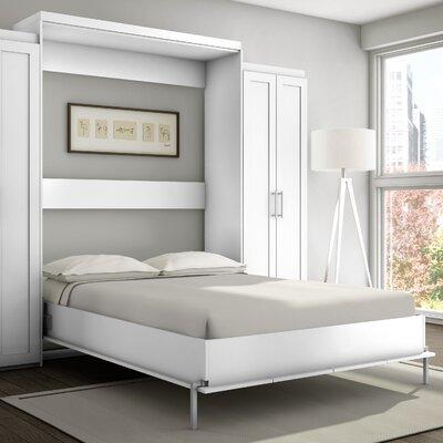stellar home shaker murphy bed reviews wayfair - Murphy Bed Frames