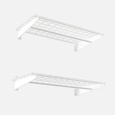 Wall Shelf With Hanging Rod hyloft 2 of pieces wall shelf set & reviews | wayfair