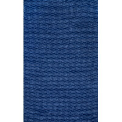 chunky hand woven navy area rug amazon blue 6x9