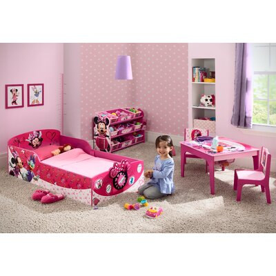 Delta Children Minnie Mouse Toddler Bed U0026 Reviews | Wayfair