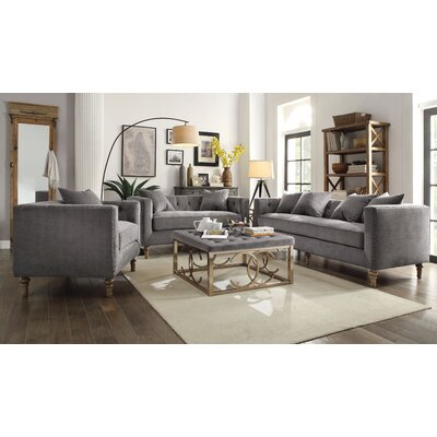 ACME Furniture Sidonia Living Room Collection & Reviews | Wayfair