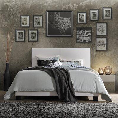 Captivating ACME Furniture Lien PU Upholstered Panel Bed U0026 Reviews   Wayfair
