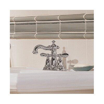 Delta Victorian Standard Bathroom Faucet Lever Handle with Drain