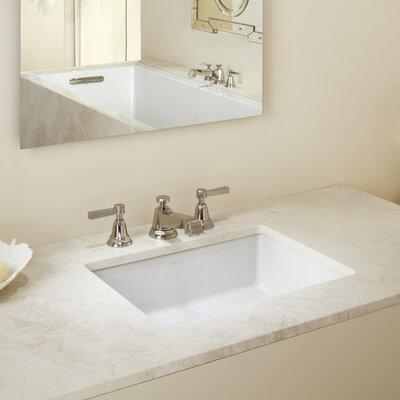 Kohler Undermount Bathroom Sink kohler verticyl rectangular undermount bathroom sink with overflow