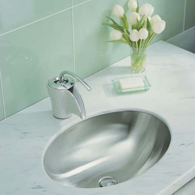 Kohler Rhythm Oval Undermount Bathroom Sink Reviews Wayfair