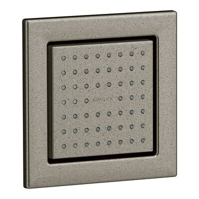 kohler watertile square adjustable shower head body spray u0026 reviews wayfair