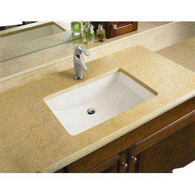 Kohler Undermount Bathroom Sinks Reviews kohler ladena rectangular undermount bathroom sink with overflow