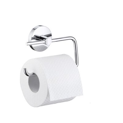 Wall Mounted Toilet Paper Holder hansgrohe e & s accessories wall mounted toilet paper holder