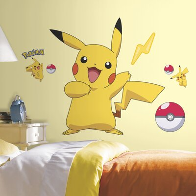 Beau Room Mates Pokemon Pikachu Wall Decal U0026 Reviews | Wayfair