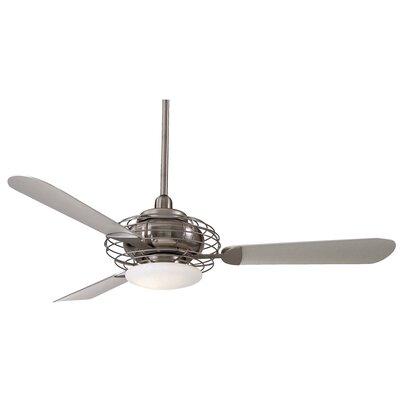Minka aire 52 acero retro 3 blade led ceiling fan reviews wayfair aloadofball Choice Image