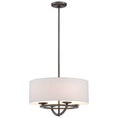 George Kovacs Circuit 4 Light Drum Pendant Reviews Wayfair