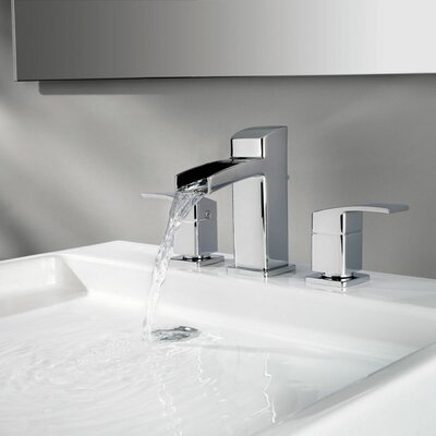 Pfister Kenzo Double Handle Widespread Waterfall Faucet U0026 Reviews | Wayfair