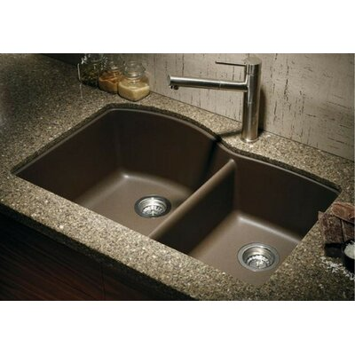Blanco Diamond 32 X 19 Bowl Undermount Kitchen Sink Reviews Wayfair