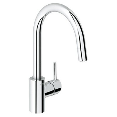 Grohe Concetto Single Handle Single Hole Standard Kitchen Faucet ...