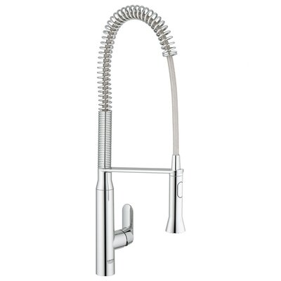 Grohe K7 Single Handle Hole Standard Kitchen Faucet Reviews Wayfair