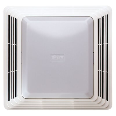 broan 70 cfm bathroom exhaust fan with light & reviews | wayfair