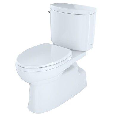 toto vespin ii high efficiency 128 gpf elongated twopiece toilet u0026 reviews wayfair