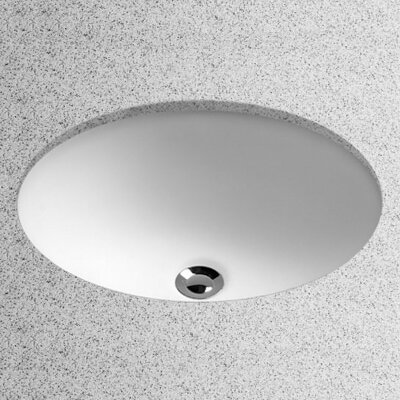 . Toto Undermount Oval Bathroom Sink with Overflow   Reviews   Wayfair