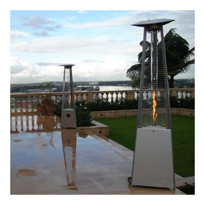 Marvelous AZ Patio Heaters Commercial Glass Tube 38,000 BTU Propane Patio Heater U0026  Reviews | Wayfair