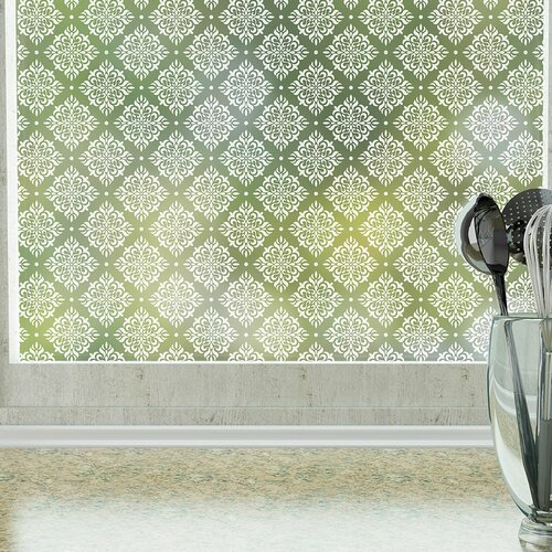 Odhams Press Damask Privacy Window Film