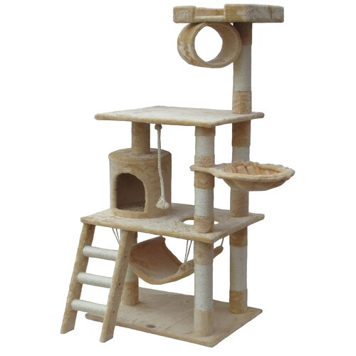 "Best cat tree - 62"" Mittens Cat Tree by Go Pet Club"
