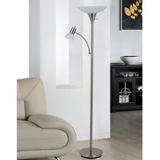 """Mother and Son 70.7"""" Torchiere Floor Lamp"""