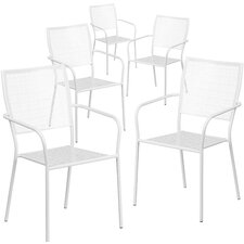 Stacking Dining Arm Chair (Set of 5)
