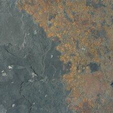 California 12'' x 12'' Slate Field Tile in Multi