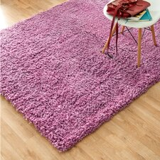 Hera Shag Hand-Tufted Purple Area Rug