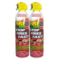 Fire Gone Suppressant (Set of 2)