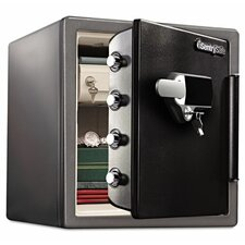 Touchscreen Alarm Water-Resistant Electronic Security Safe with Biometric Lock