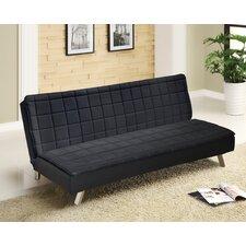 Urban Shop Memory Foam Convertible Sofa