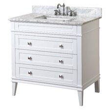 """Eleanor 36"""" Single Bathroom Vanity Set"""