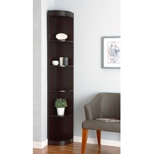 "Fuhrmann 77"" Corner Unit Bookcase"