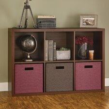 "Decorative Storage 30"" Cube Unit Bookcase"