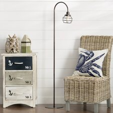 """Canby 58.63"""" Arched Floor Lamp"""
