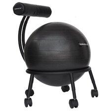 High-Back Exercise Ball Chair