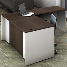 2-Piece L-Shape Reception Desk Suite