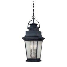 Barrister 3-Light Outdoor Hanging Lantern