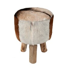 Safari Hide Drum Stool
