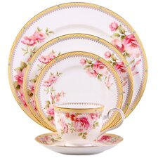 Hertford Bone China 5 Piece Place Setting, Service for 1
